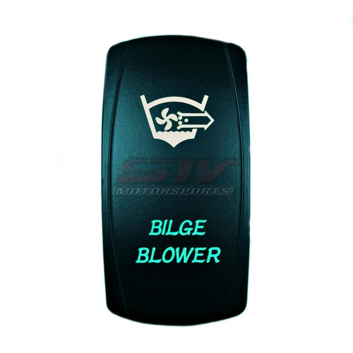Bilge Blower Laser Rocker Switch
