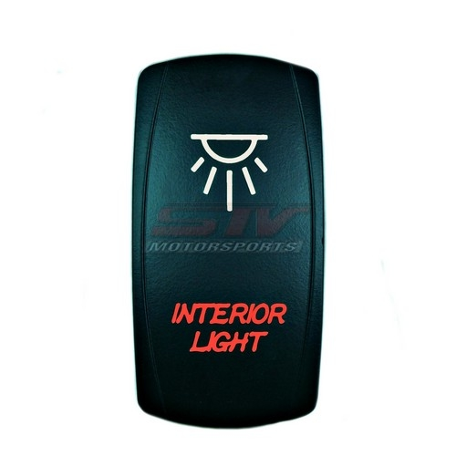 Interior Lights Laser Rocker Switch 6