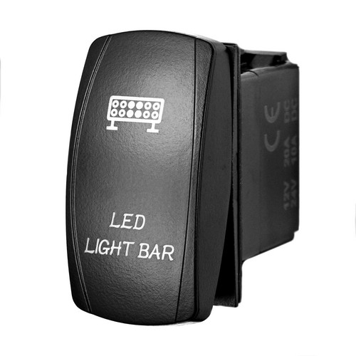 Led Light Barr Laser Rocker Switch 1 led light bar laser rocker switch stv motorsports stv rocker switch wiring diagram at suagrazia.org