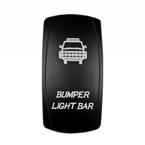 Bumper Light Bar Laser Rocker Switch