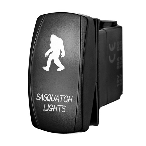 Sasquatch Lights Laser Rocker Switch 2 sasquatch lights laser rocker switch stv motorsports sasquatch light switch wiring diagram at alyssarenee.co