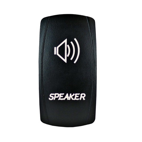 Speakers Laser Rocker Switch