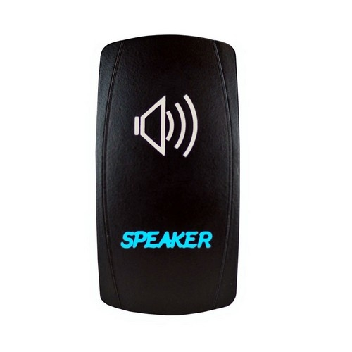 Speakers Laser Rocker Switch 4