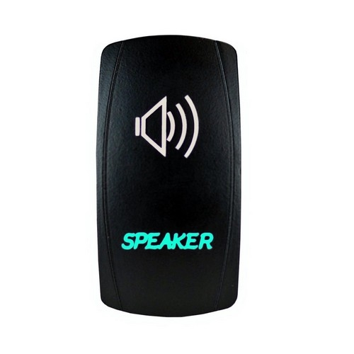 Speakers Laser Rocker Switch 8