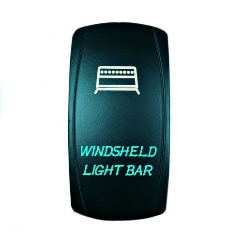 Windshield Light Bar Rocker Switch