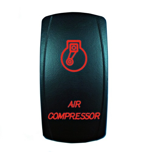 AIR COMPRESSOR Laser Rocker Switch RED