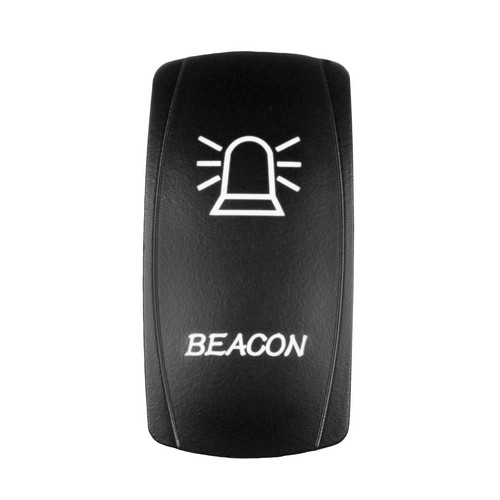 BEACON Laser Rocker Switch WHITE