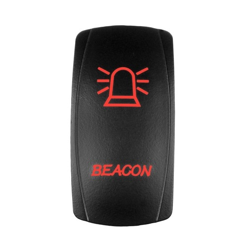 BEACON Laser Rocker Switch RED