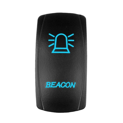 BEACON Laser Rocker Switch BLUE