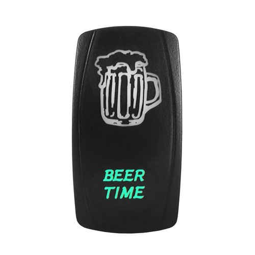 BEER TIME Laser Rocker Switch 3