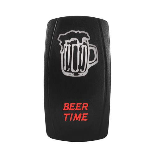 BEER TIME Laser Rocker Switch 7