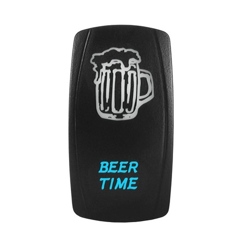 BEER TIME Laser Rocker Switch 9