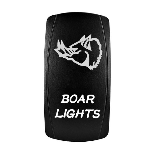Boar Lights Laser Rocker Switch