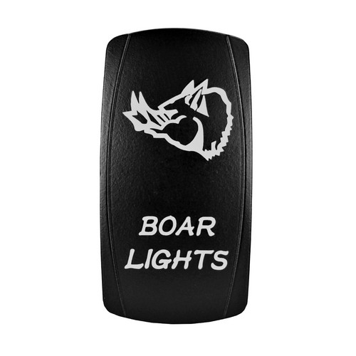 Boar Lights Laser Rocker Switch 2