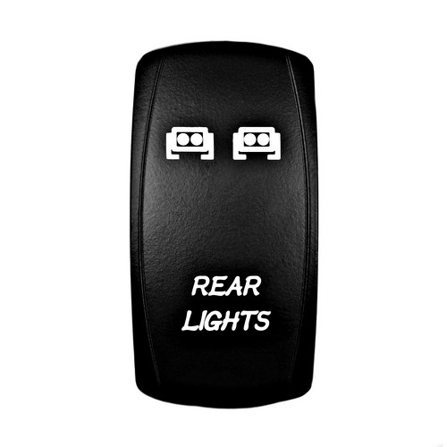REAR LIGHTS Laser Rocker Switch 10