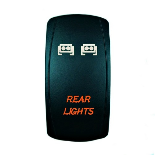 REAR LIGHTS Laser Rocker Switch 9