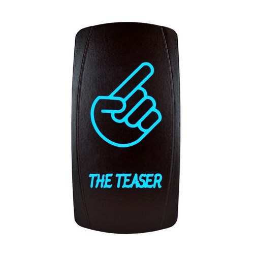 THE TEASER Laser Rocker Switch BLUE