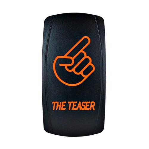 THE TEASER Laser Rocker Switch ORANGE