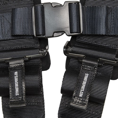Racing Harness 4 point 3 Black 8