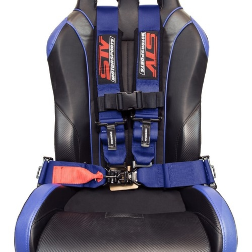 Racing Harness 4 point 3 Blue 7