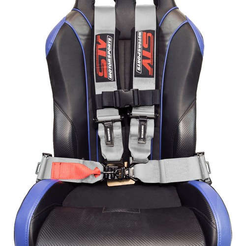 Racing Harness 4 point 3 Gray 7