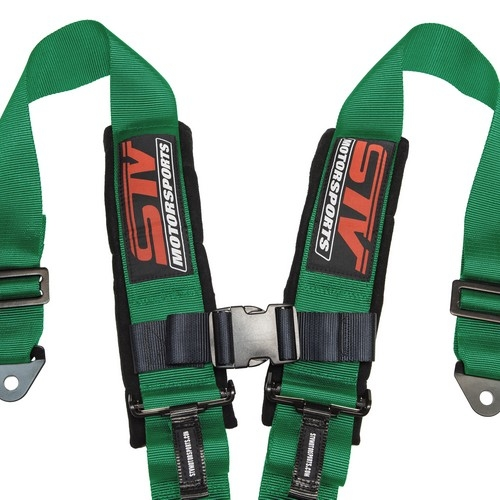 Racing Harness 4 point 3 Green 1