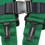 Racing Harness 4 point 3 Green 3
