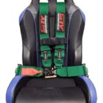 Racing Harness 4 point 3 Green 4