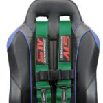 Racing Harness 4 point 3 Green 5