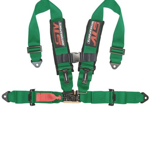 Racing Harness 4 point 3 Green 6