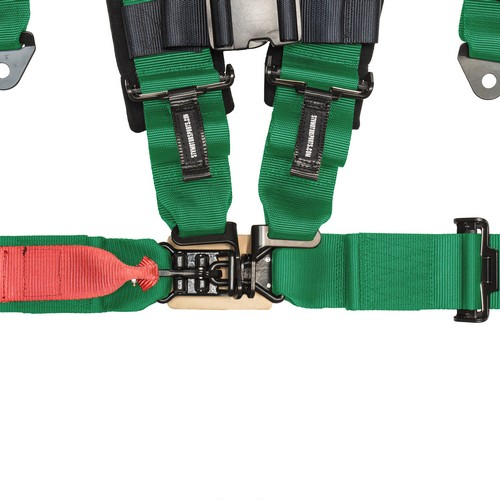 Racing Harness 4 point 3 Green 7