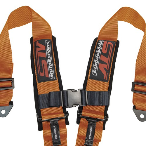 Racing Harness 4 point 3 Orange 3