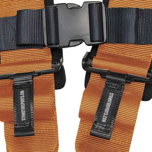 Racing Harness 4 point 3 Orange 5