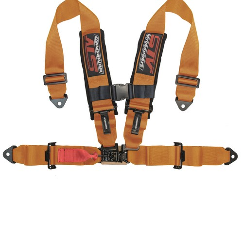 Racing Harness 4 point 3 Orange 8