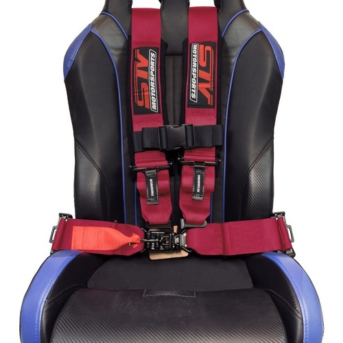 Racing Harness 4 point 3 Pink 4