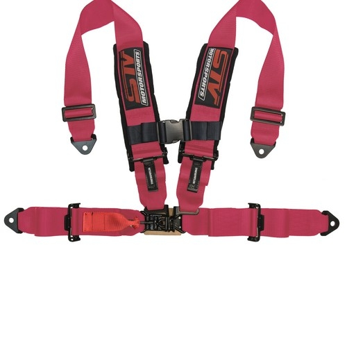Racing Harness 4 point 3 Pink 6