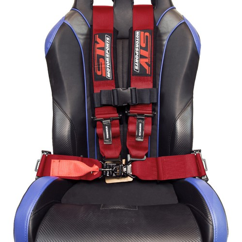 Racing Harness 4 point 3 Red 4