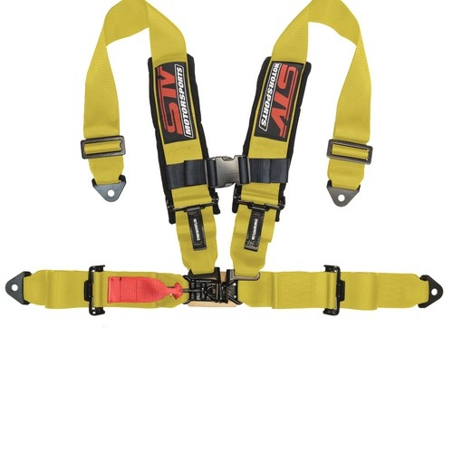 Racing Harness 4 point 3 Yellow 1
