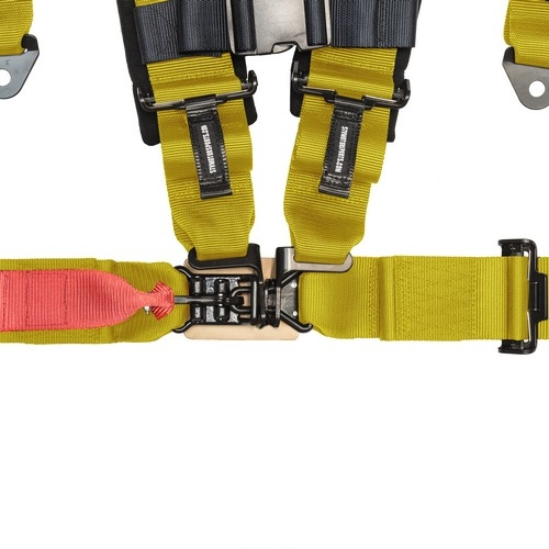 Racing Harness 4 point 3 Yellow 2
