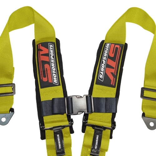 Racing Harness 4 point 3 Yellow 4