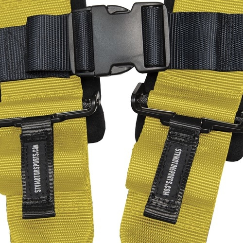 Racing Harness 4 point 3 Yellow 6