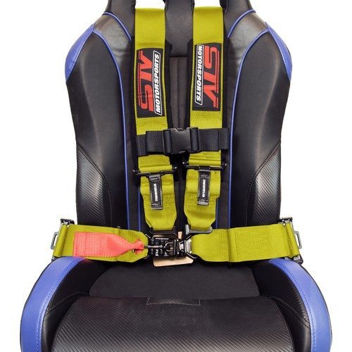 Racing Harness 4 point 3 Yellow 7