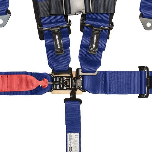 Racing Harness 5 point 3 Blue 2