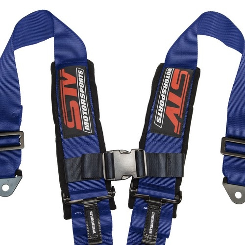 V-Type 5 Point Latch and Link 2 inch Safety Racing Seat Belt Harness