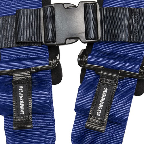 Racing Harness 5 point 3 Blue 6