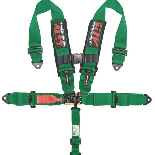 Racing Harness 5 point 3 Green 1