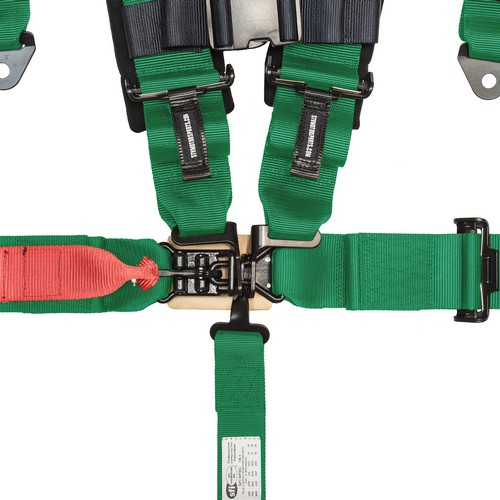 Racing Harness 5 point 3 Green 2