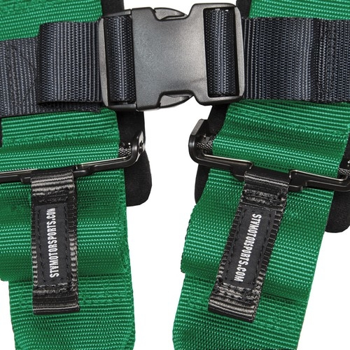 Racing Harness 5 point 3 Green 6