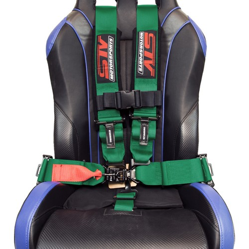 Racing Harness 5 point 3 Green 7