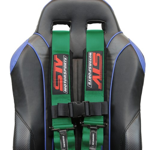 Racing Harness 5 point 3 Green 8